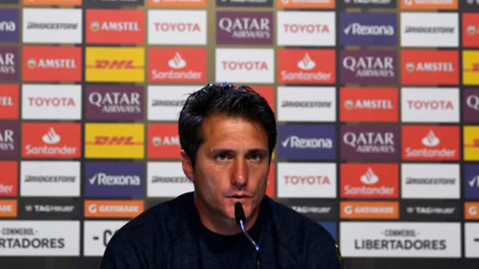Guillermo Barros Schelotto declaraciones final River-Boca Madrid