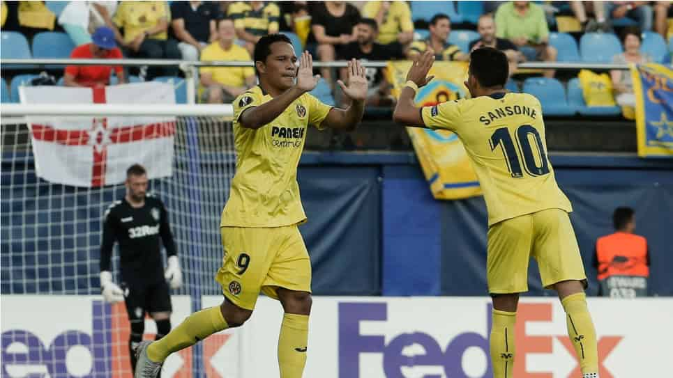 Sporting Lisboa vs Villarreal EN VIVO ONLINE: Europa League 2018-2019
