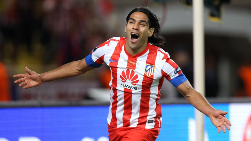 Uefa remembers Falcao before the European Supercup