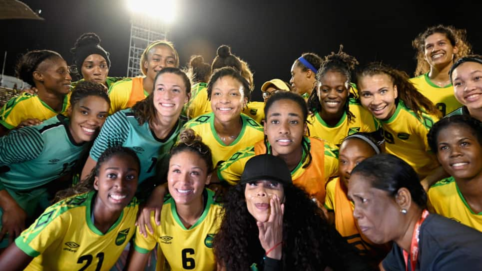 Image result for Jamaica women's national football team