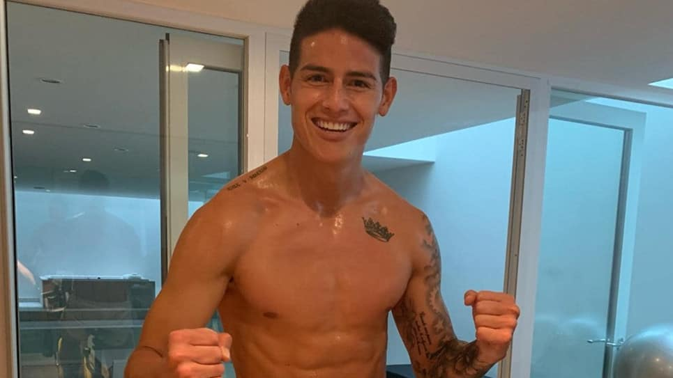 ¿Guiño del PSG a James en Facebook?