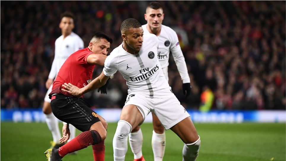 Manchester United vs PSG: Champions League
