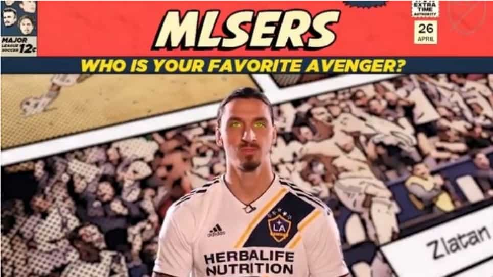 Superhéroes favoritos de las figuras de la MLS: Zlatan y Rooney