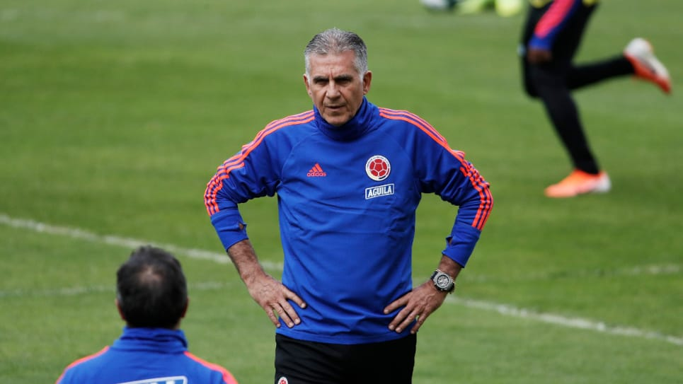 "VIDEO | Carlos Queiroz: ""Matheus, James, Mina, Cuéllar y Borja no estarán ante Panamá"""