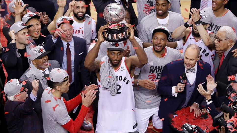 Raptors campeón de la conferencia Este: final NBA