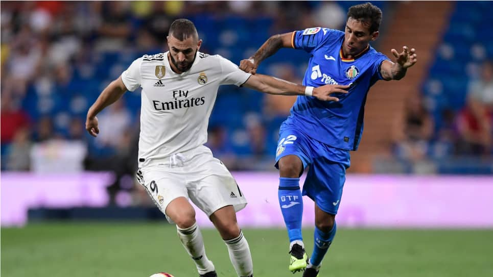 Getafe vs Real Madrid EN VIVO ONLINE: Liga Santander