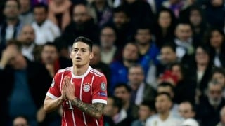 James Rodríguez, en la plantilla ideal de la Champions League 2017/2018
