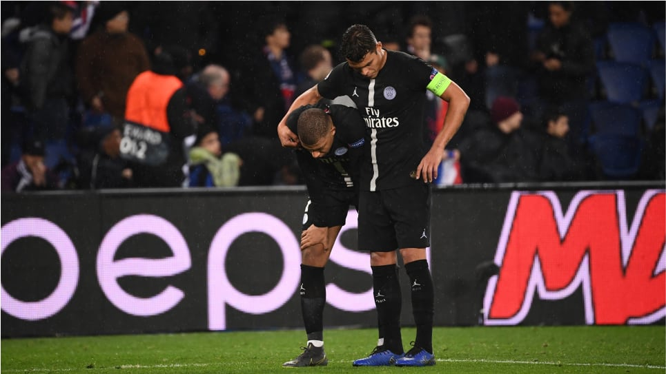 Reacciones PSG vs United: Thiago Silva