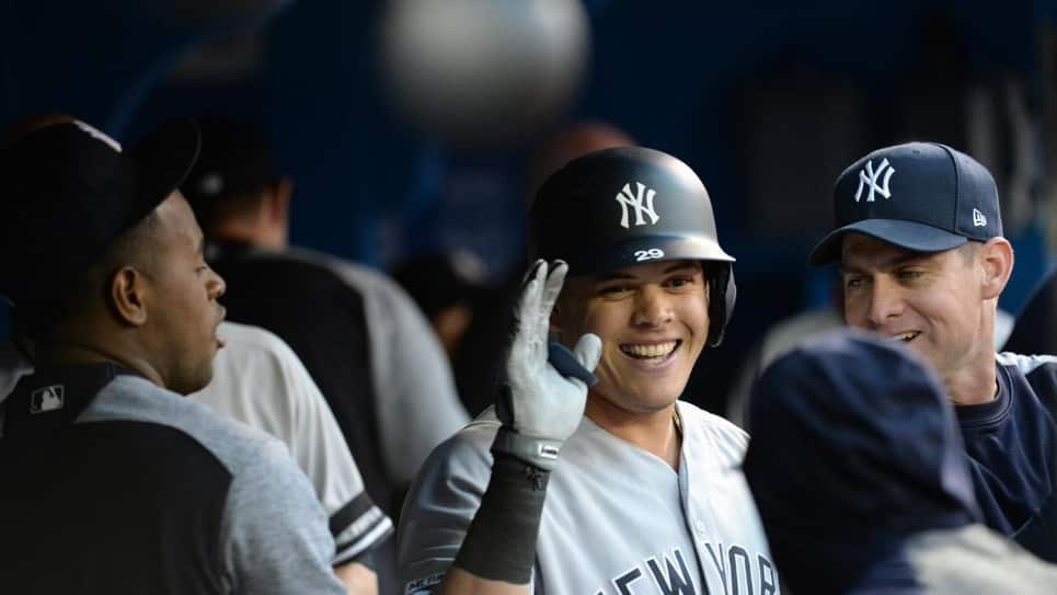 VIDEO | Giovanny Urshela anota su cuarto jonrón en la temporada con los Yankees