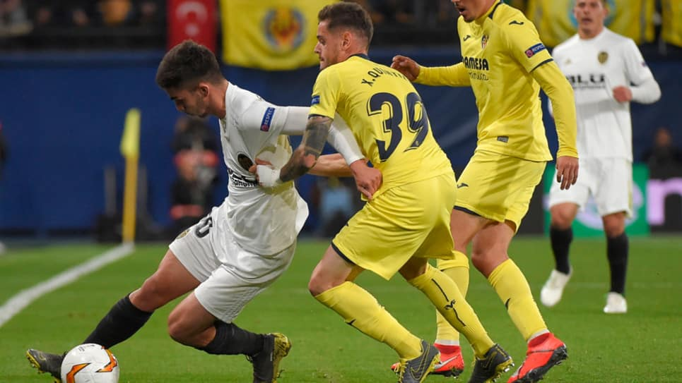 Valencia vs Villarreal EN VIVO ONLINE: Europa League 2018-2019