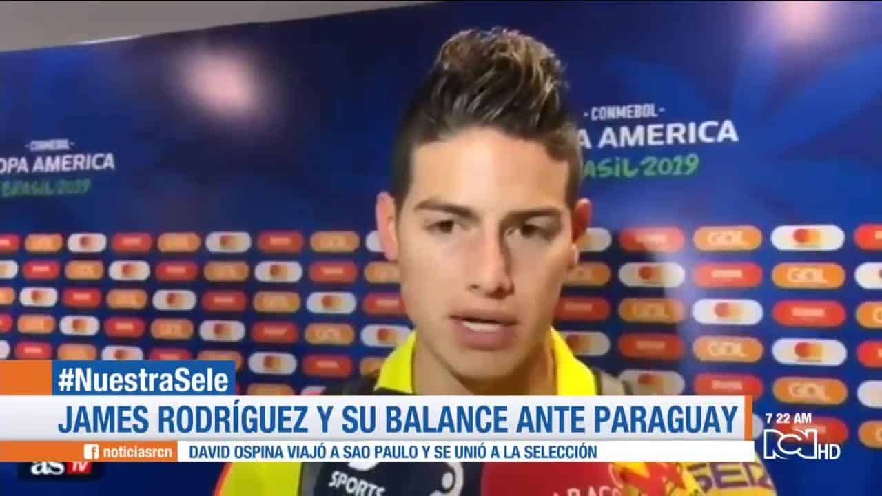 James Rodríguez Copa América: Presente y Real Madrid