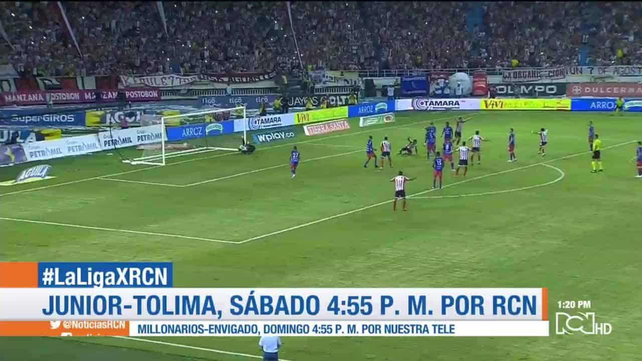 Junior vs Tolima, Liga Águila 2019-2