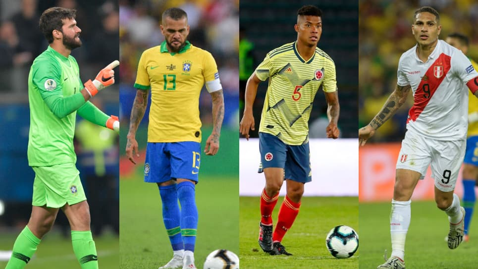 11 ideal Copa América Brasil 2019: Equipo ideal Copa América