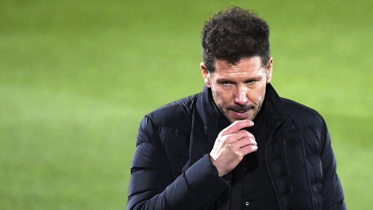Simeone Atlético de Madrid 2021 / AFP