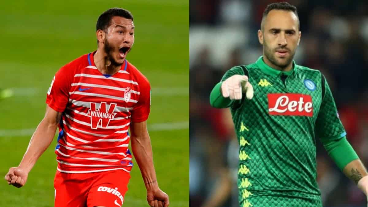 David Ospina, Luis Suárez: Granada vs Napoli, Europa League 2021