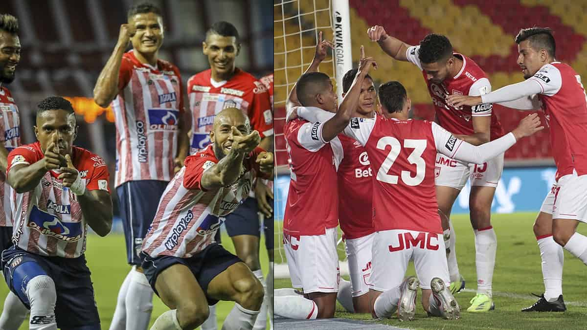 Junior vs Santa Fe, fecha 15 Liga BetPlay / Dimayor