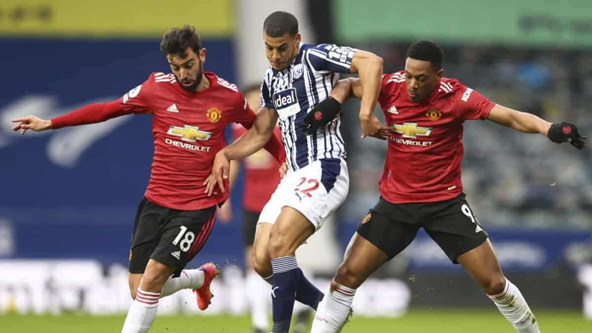 Manchester United vs West Bromwich: Premier League 2020-21
