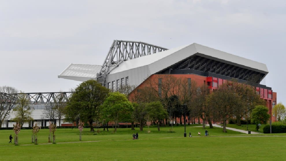 Anfield, el estadio del Liverpool. /AFP