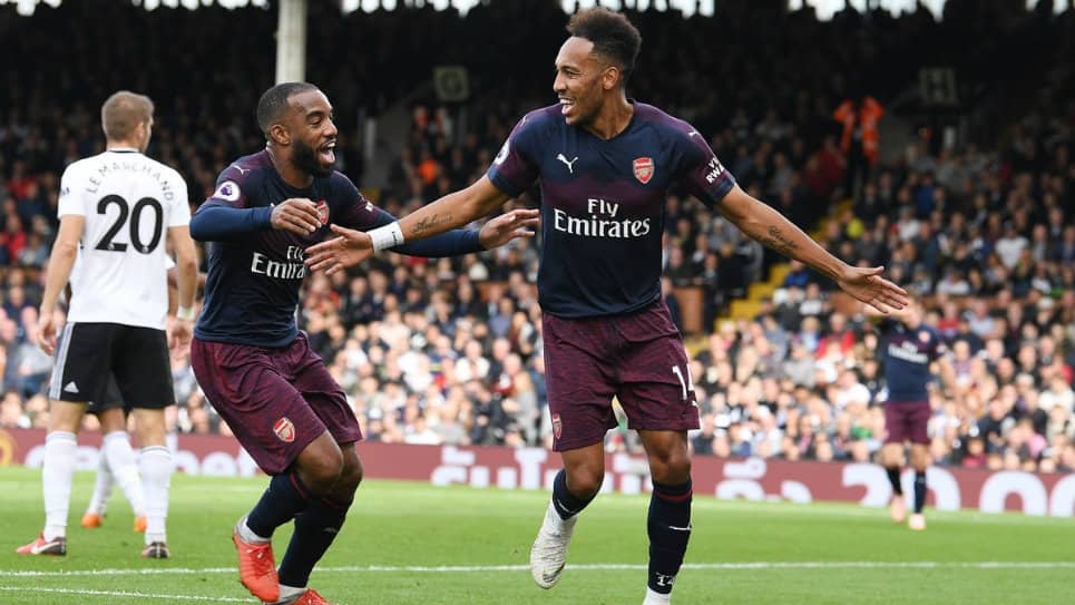 Arsenal aplasta al Fulham en la Premier League