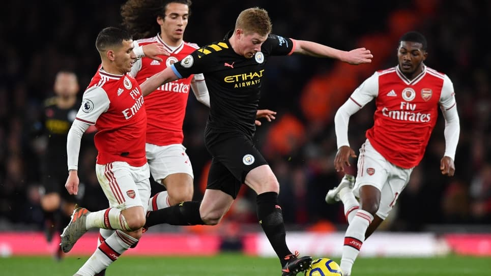 Arsenal vs Manchester City, resultado, goles y resumen: 0-3 Premier League