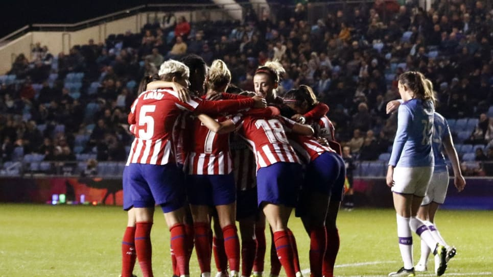 Leicy Santos: Manchester City vs Atletico Madrid Champions League Femenina