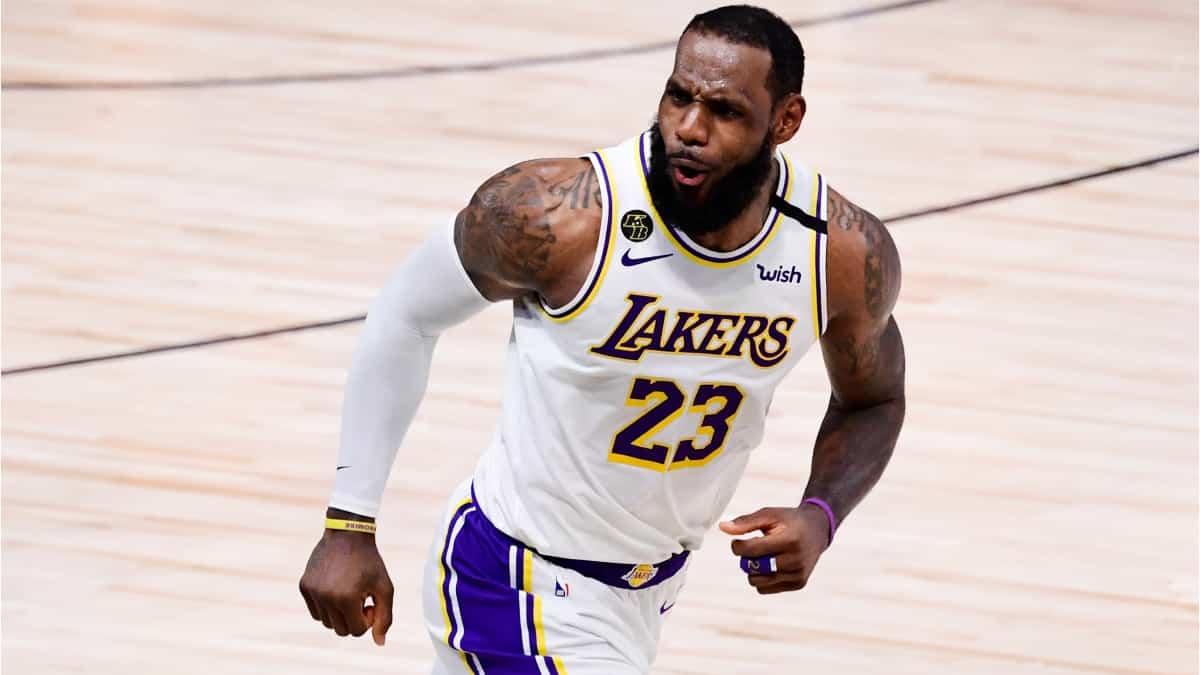 Lebron James, Los Ángeles Lakers / AFP