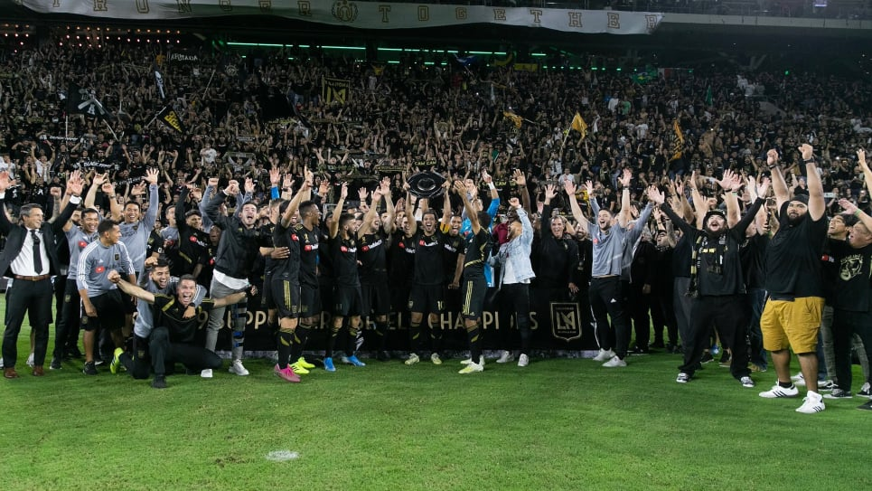 Gol Eduard Atuesta, LAFC vs Dynamo Houston: Supporters Shield