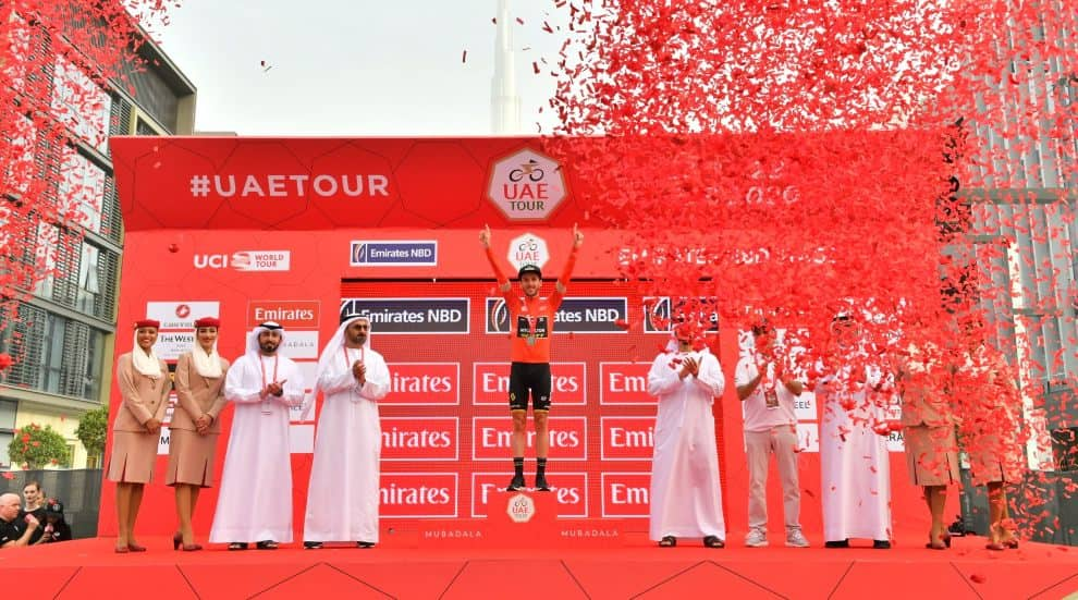 Adam Yates gana la UAE Tour
