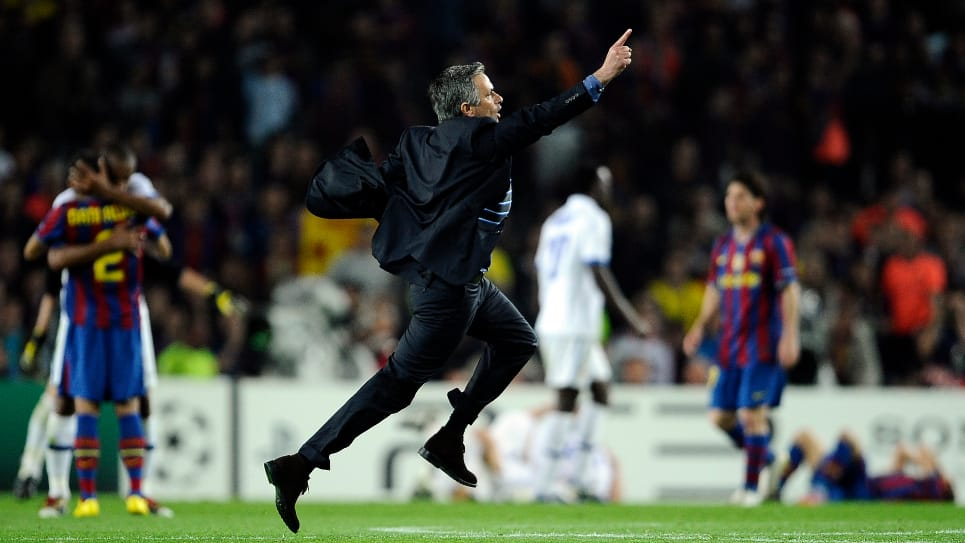 Mourinho, Barcelona-Inter: Champions League 2009-2010