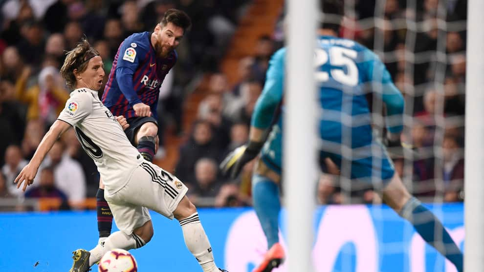 Barcelona vs Real Madrid EN VIVO ONLINE: LaLiga 2019-2020