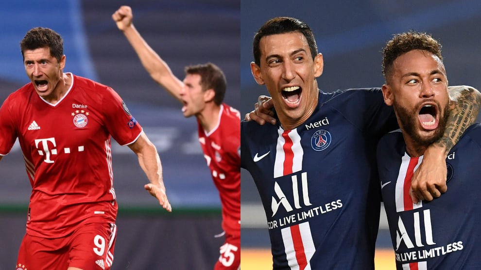 PSG vs Bayern Múnich: fecha, hora y TV final Champions League