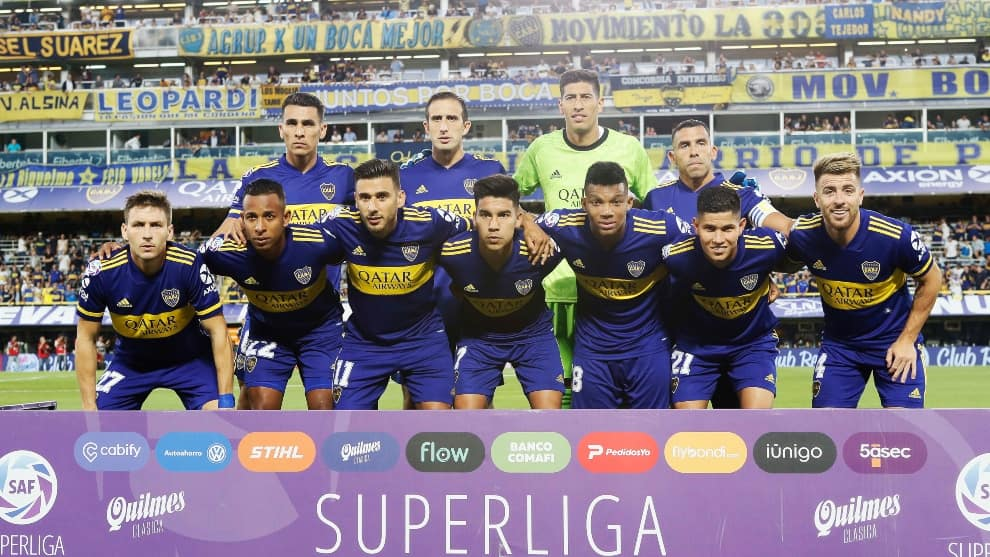 Boca Juniors vs Gimnasia LP EN VIVO ONLINE: Superliga Argentina 2019/20