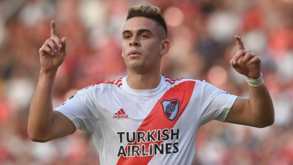 Gol Rafael Santos Borré, Independiente 1-2 River Plate: Superliga Argentina
