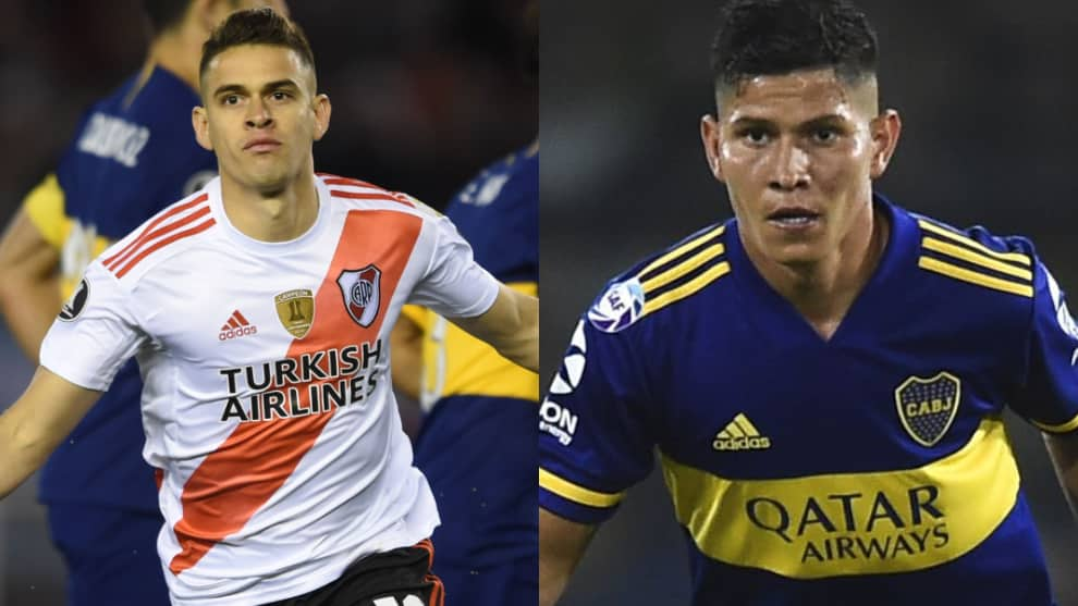 Borré y Campuzano once ideal de la Superliga Argentina 2019/2020