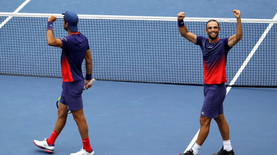 Cabal y Farah previo del juego final US Open: cabal y farah us open