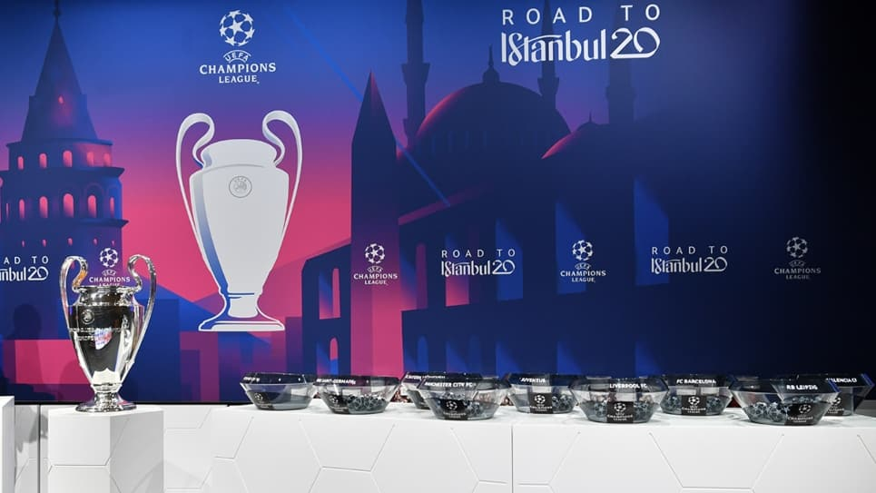Llaves y cruces octavos de final en la Champions League 2019-2020