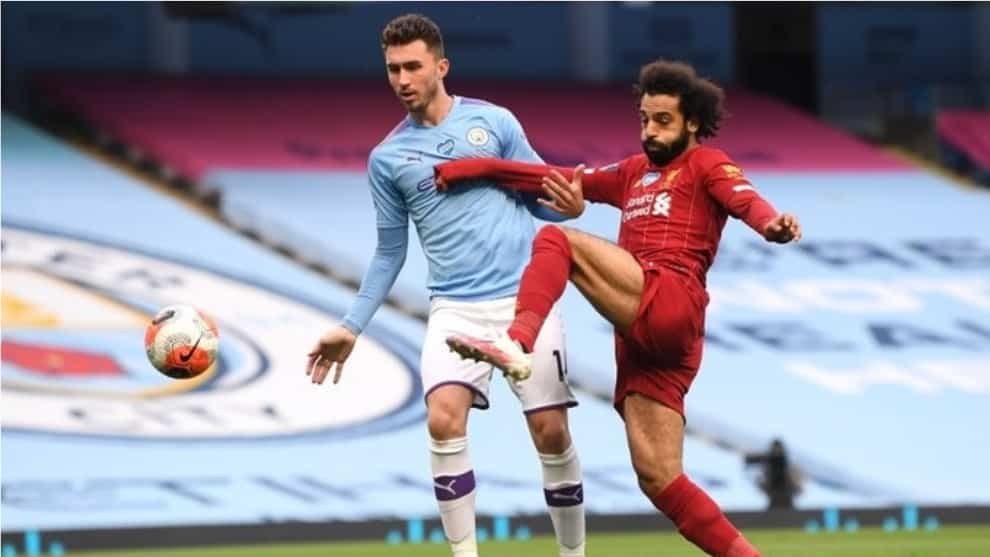 Manchester City vs Liverpool / AFP