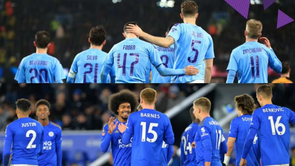 Manchester City y Leicester cumplen FA Cup, el Manchester United al 'replay'