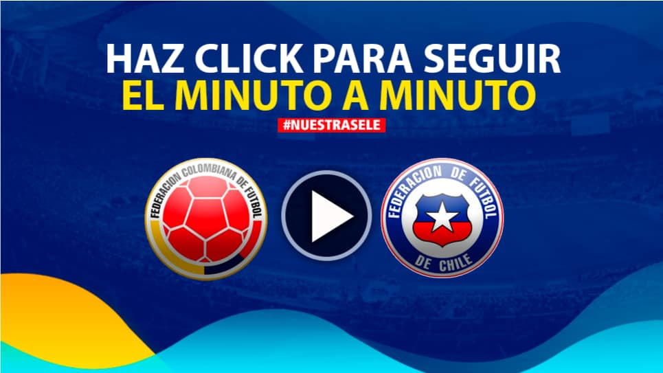 Colombia vs Chile, cuartos de final EN VIVO ONLINE: Copa América 2019