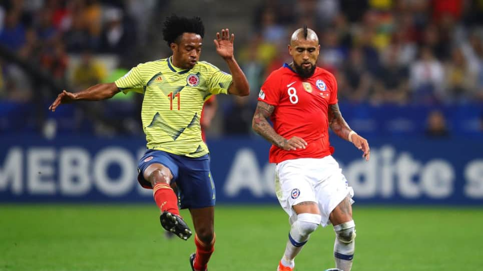 Colombia vs Chile EN VIVO ONLINE: Amistoso Internacional
