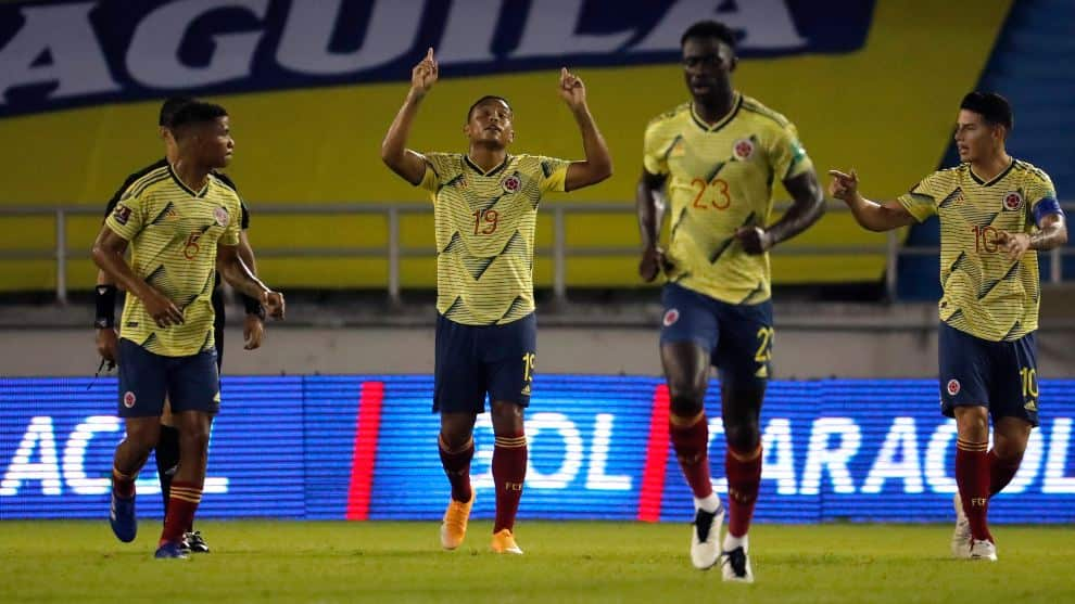 Colombia vs Uruguay, fecha 3 Eliminatorias: fecha y hora