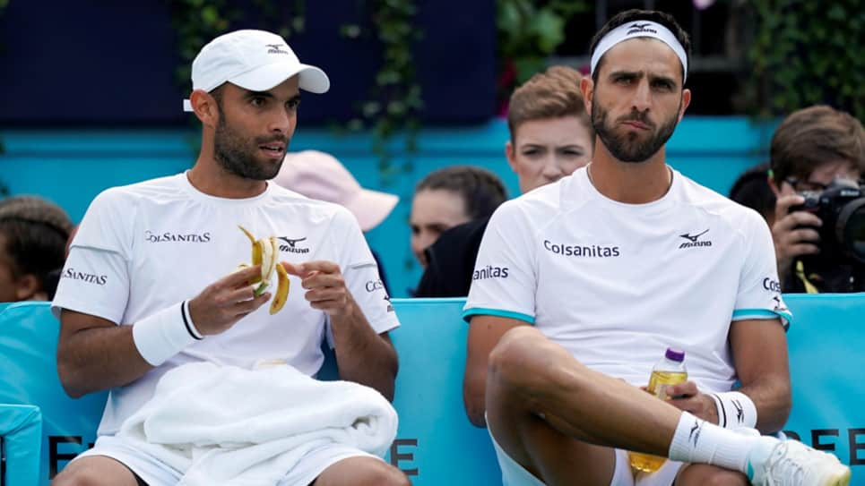 La dupla colombiana Cabal-Farah caen en el regreso de Andy Murray a las canchas