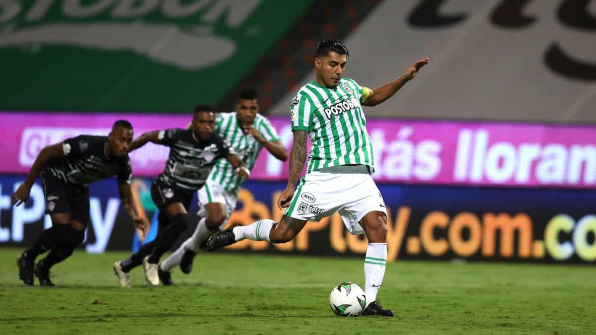 Gol Jefferson Duque, Nacional1-0 Junior
