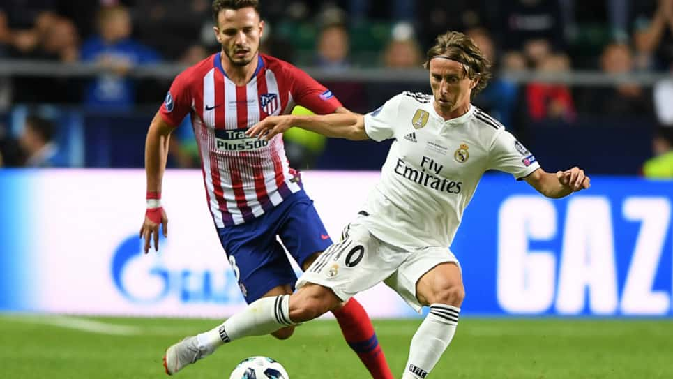 Real Madrid vs Atlético de Madrid EN VIVO ONLINE: Liga Santander 2018-2019