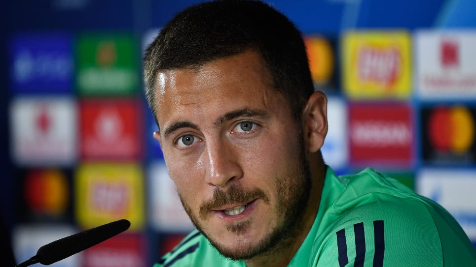 Eden Hazard, Real Madrid - Brujas: Fecha 2 Champions League
