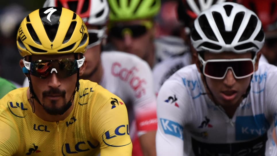 Egan Bernal Tour de Francia 2019, etapa 18 ascenso a Los Alpes