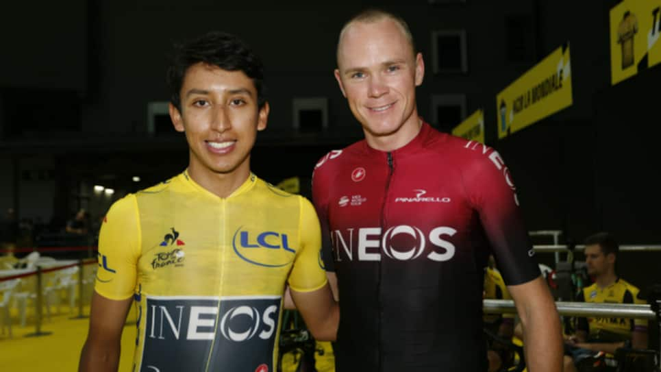 Greg Lemond pedido a Egan Bernal con Chris Froome