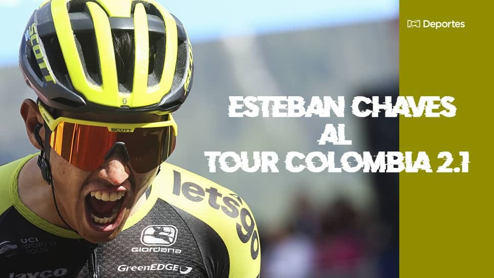 Esteban Chaves correrá el Tour Colombia 2.1