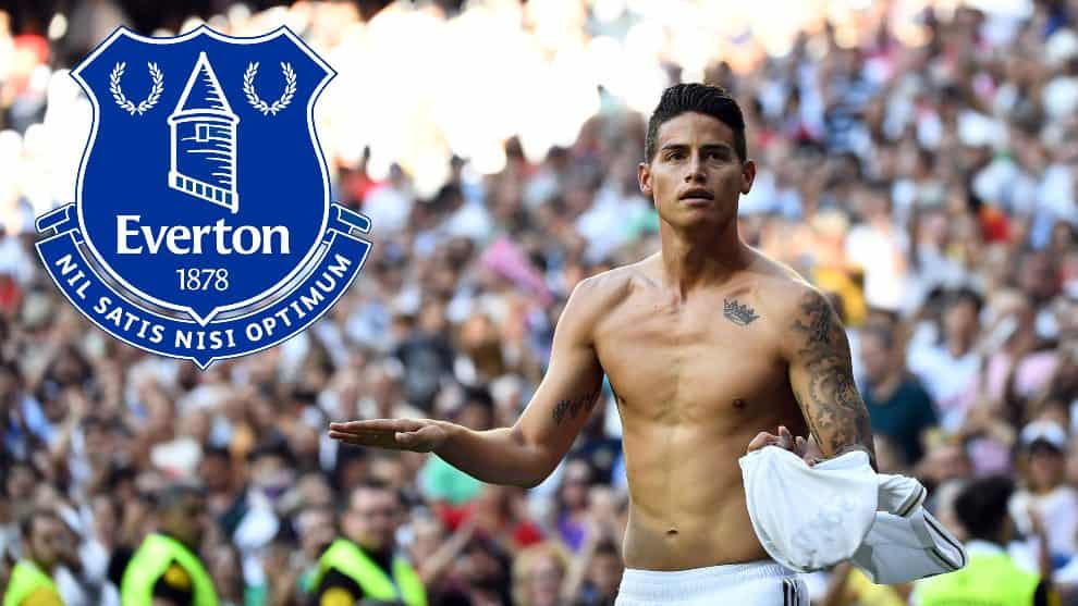 Acuerdo entre Everton y James