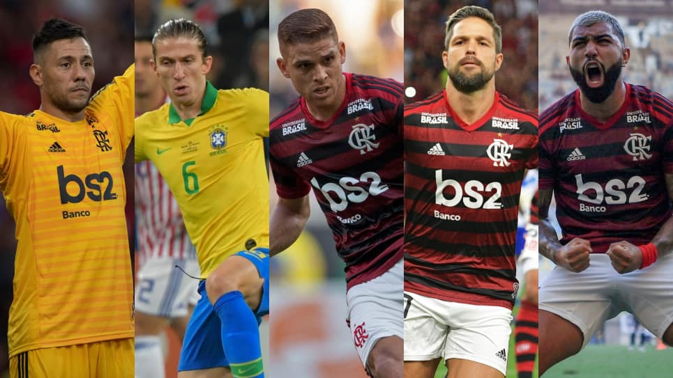 Flamengo once ideal para la Copa Libertadores 2019